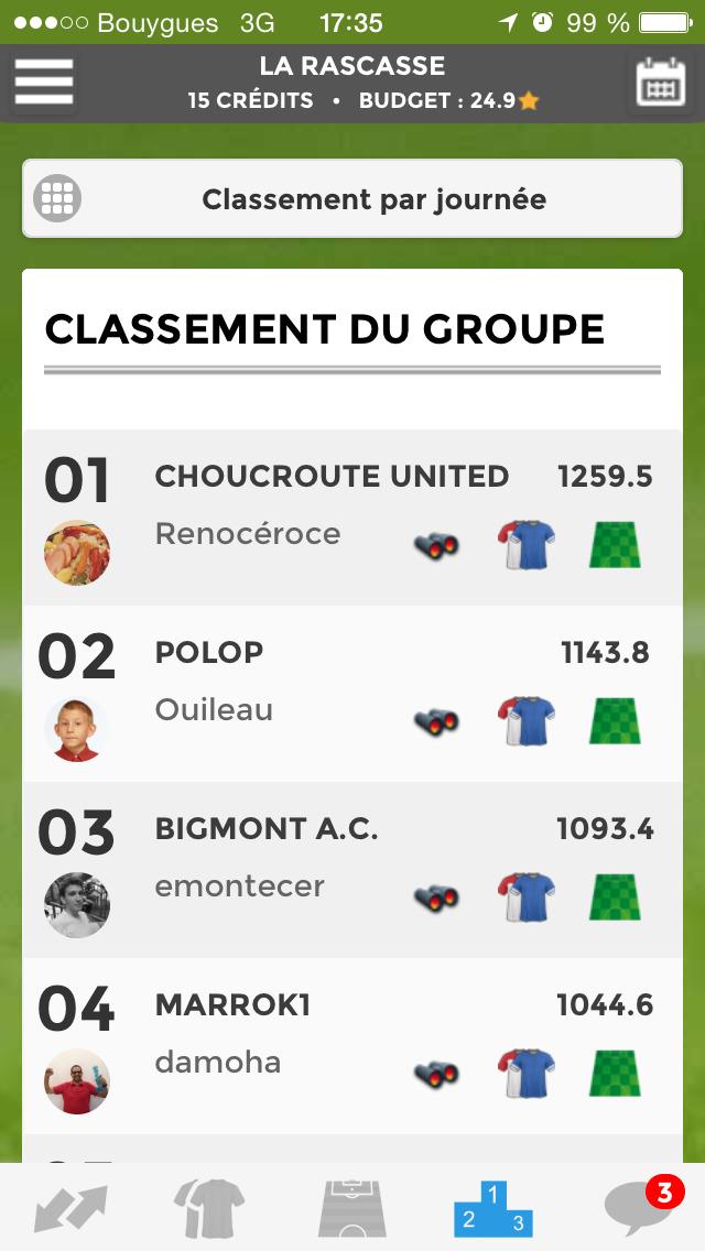 Le Championnat des Etoiles screenshot 4