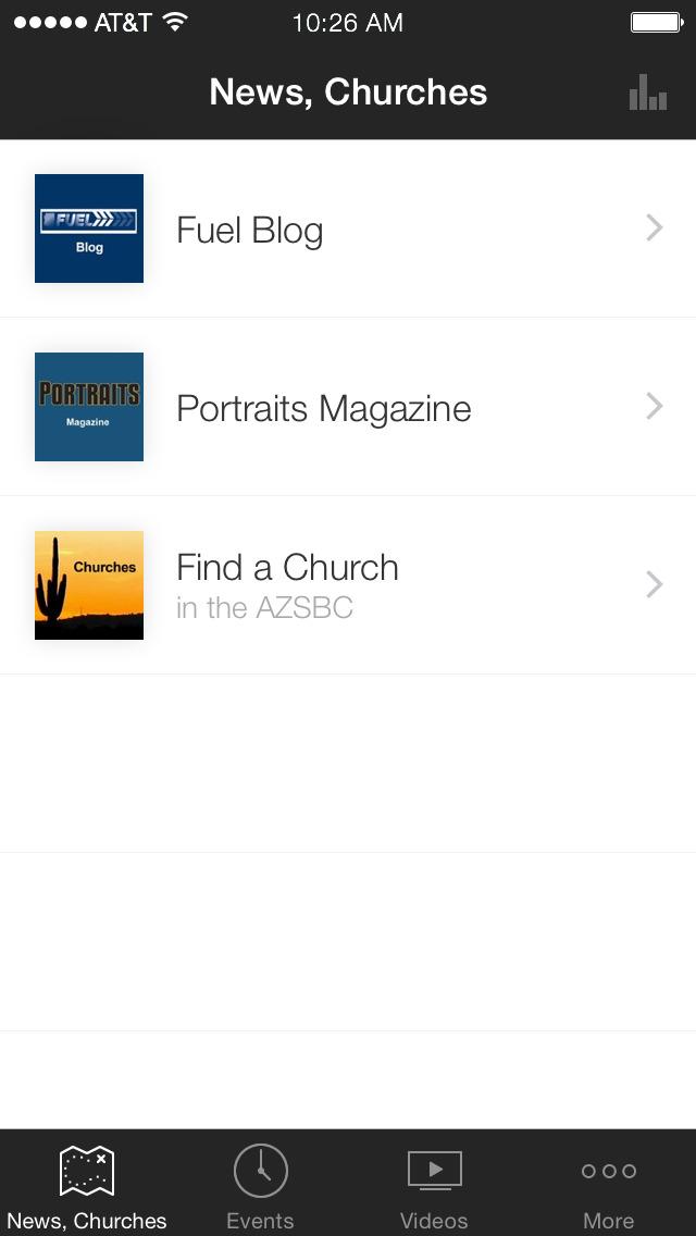 Arizona Southern Baptists screenshot 1