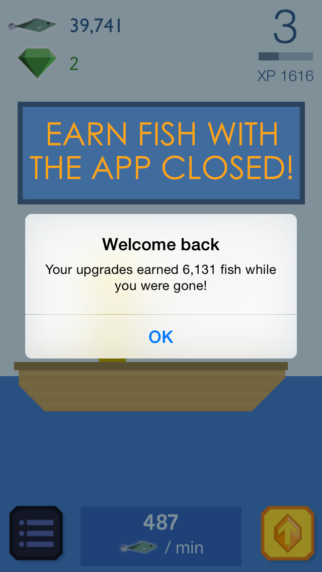 Fishy Clicker - Original Incremental Idle Game about Fishing screenshot 4