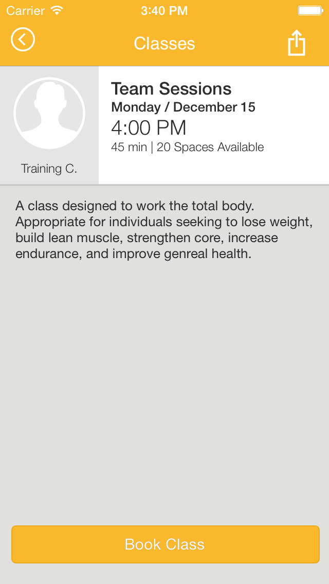 Prime Fitness screenshot #4