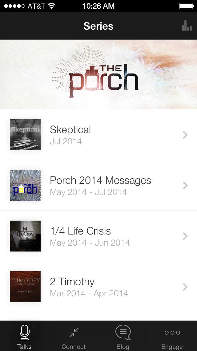 The Porch screenshot 1