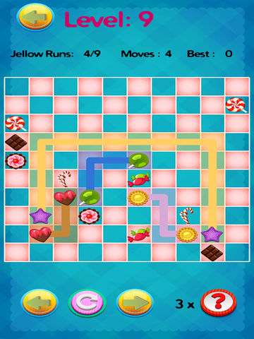 ' A Candy Connect Sweet Treat Path – Free Logic Game screenshot 8