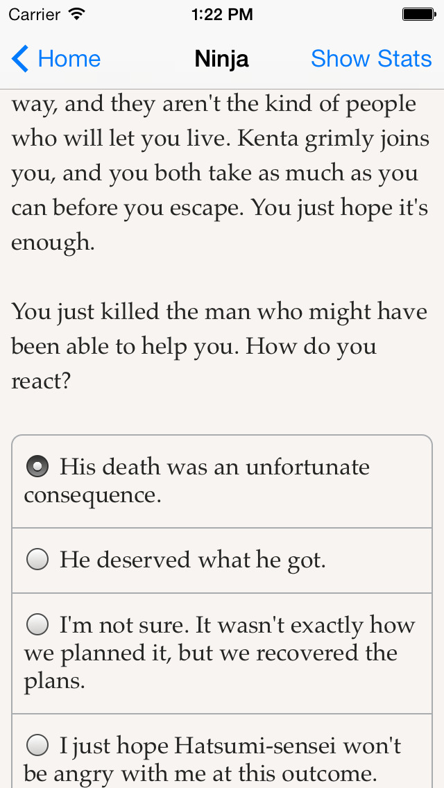 Choice of the Ninja screenshot 5