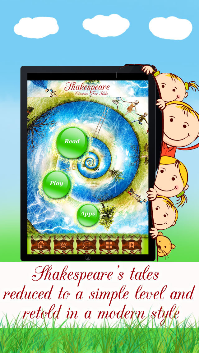Shakespeare for Kids - Tales, Plays and Stories Retold in a Simple Style screenshot 4