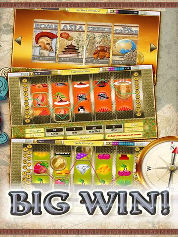 A Slots of Egypt vs Rome (Lucky Pharaohs Free Blackjack & Roulette Casino) - Fun Slot Machine Games screenshot 6
