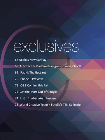 MacDirectory Magazine screenshot #1