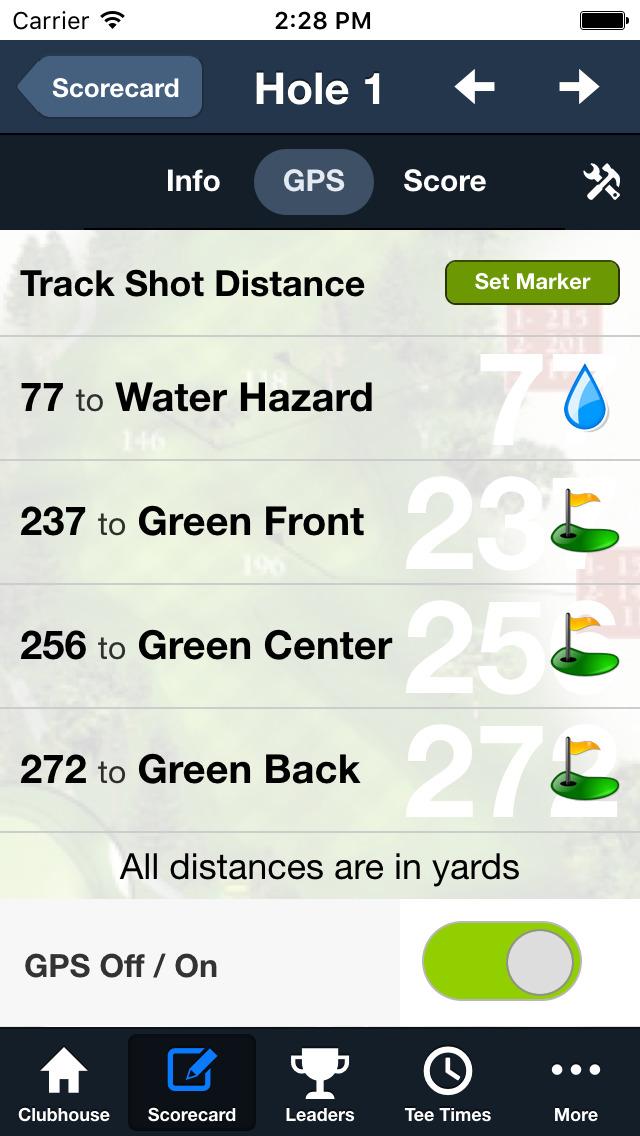 Penn State Golf Courses screenshot 4