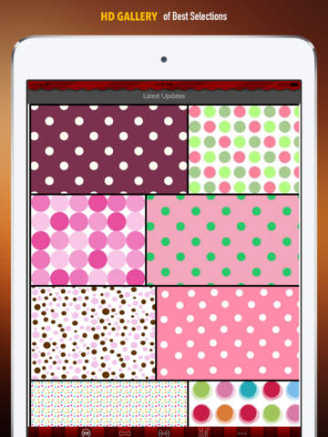 Polka Dot Wallpapers HD: Quotes Backgrounds Creator with Best Designs and Patterns screenshot 6