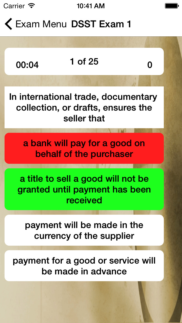 DSST Business Prep screenshot 3