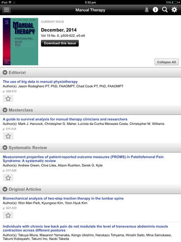MSK Physiotherapy Journal screenshot 9
