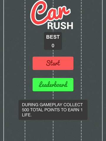 Crazy Car Rush Extreme screenshot 7