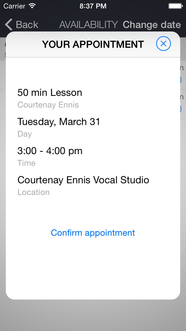 Courtenay Ennis Vocal Studio screenshot 2