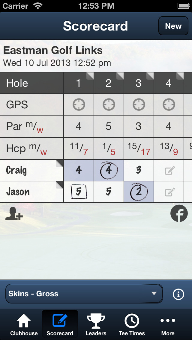 Eastman Golf Links screenshot 4