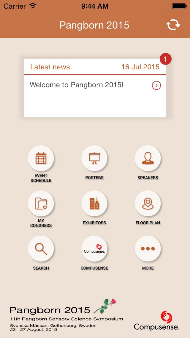 PANG2015 screenshot 2