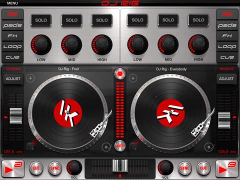 DJ Rig for iPad screenshot 1