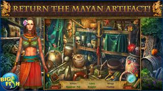 Mayan Prophecies: Cursed Island - A Hidden Objects Puzzle Adventure screenshot 2