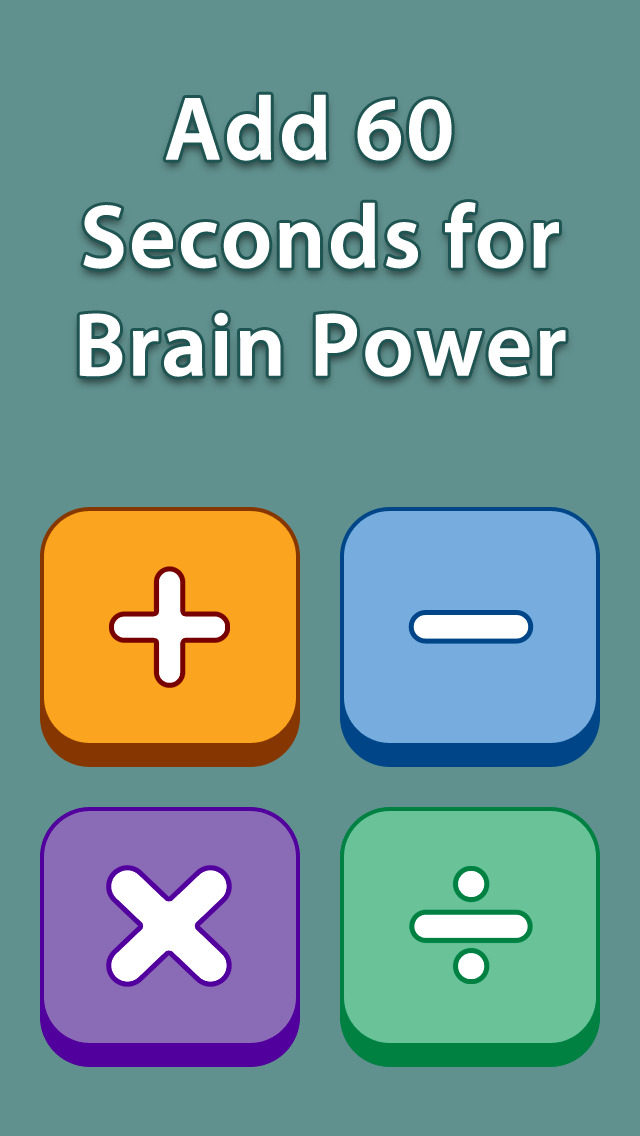 Add 60 Seconds for Brain Power screenshot 1