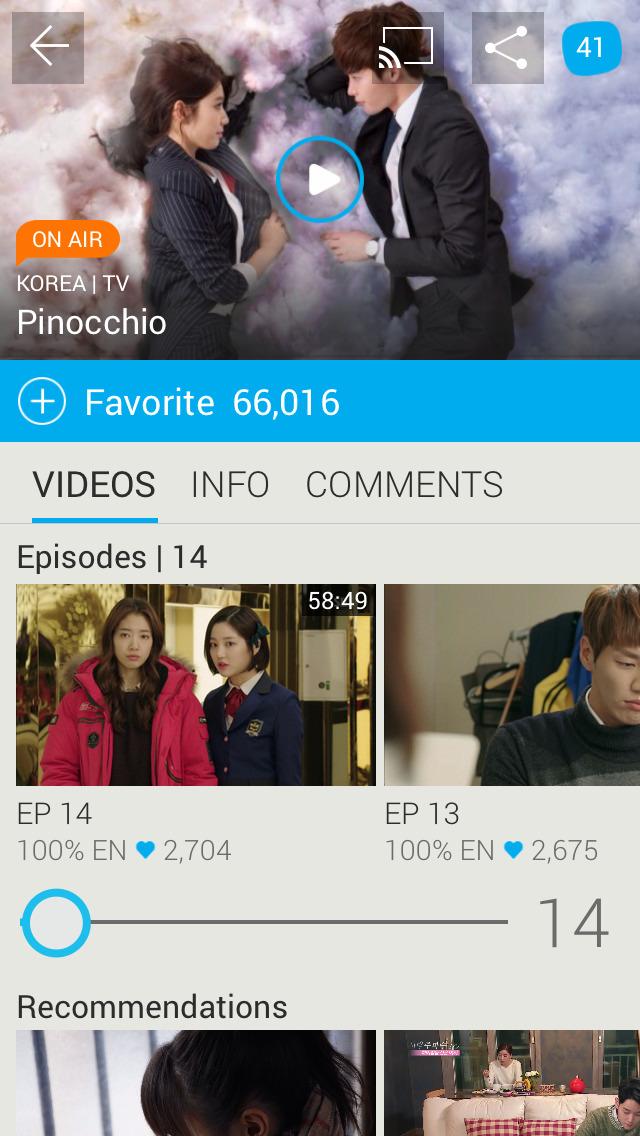 Viki: Asian TV Dramas & Movies screenshot 1