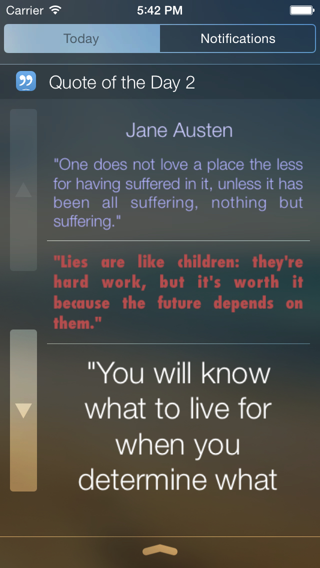 Quote of the Day Widget screenshot 2