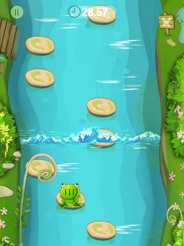 Jumping Frog 2 for block, parkour game screenshot 3