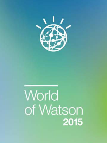 World of Watson 2015 screenshot 3