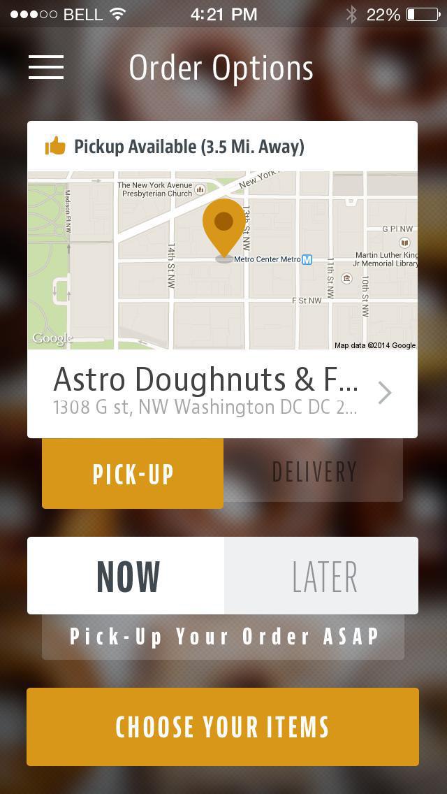 Astro Doughnuts & Fried Chicken screenshot 2