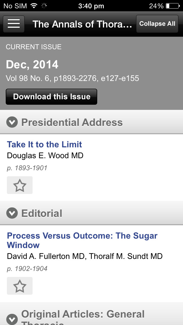 The Annals of Thoracic Surgery screenshot 5