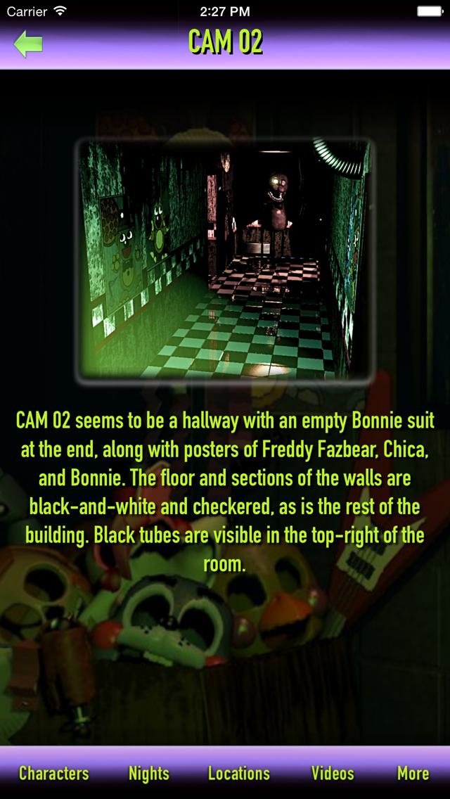Cheats + Walkthrough for Five Nights at Freddy's 3 screenshot 2