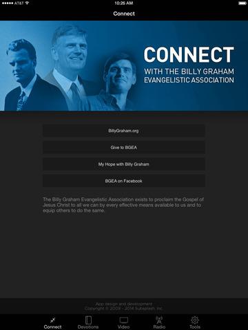 Billy Graham Evangelistic Assn screenshot 4