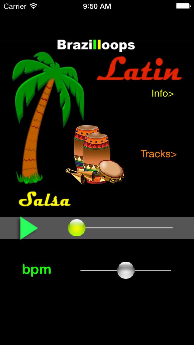 Brazilloops Latin screenshot 1