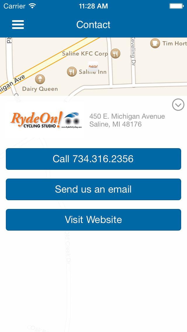 RydeOn! Cycling Studio screenshot #5