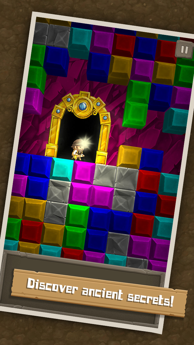 Puzzle to the Center of Earth screenshot 2