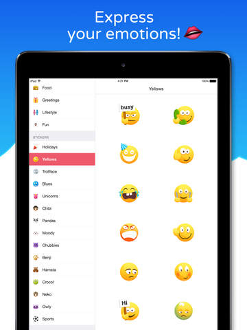 Emoji Keypad for Messenger - Free Emojis Keyboard, Stickers, Emoticons & Fonts for Your Messages screenshot 6