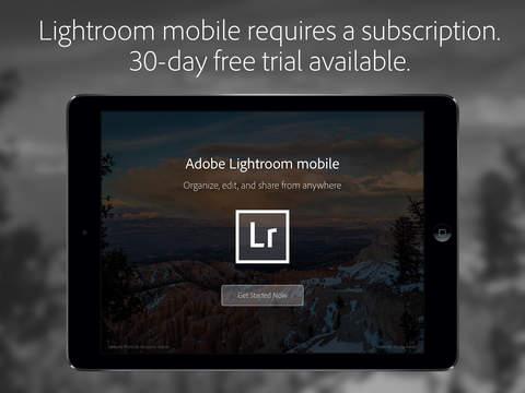 Adobe Lightroom for iPad screenshot 5