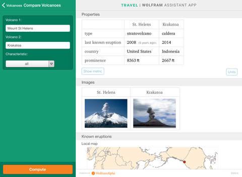 Wolfram Travel Assistant App screenshot 10