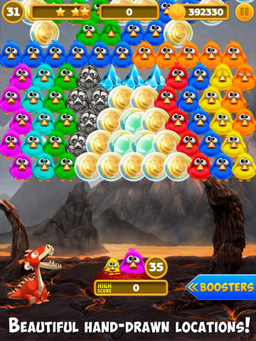 Bubble Birds 4: Match 3 Puzzle Shooter Game screenshot 8