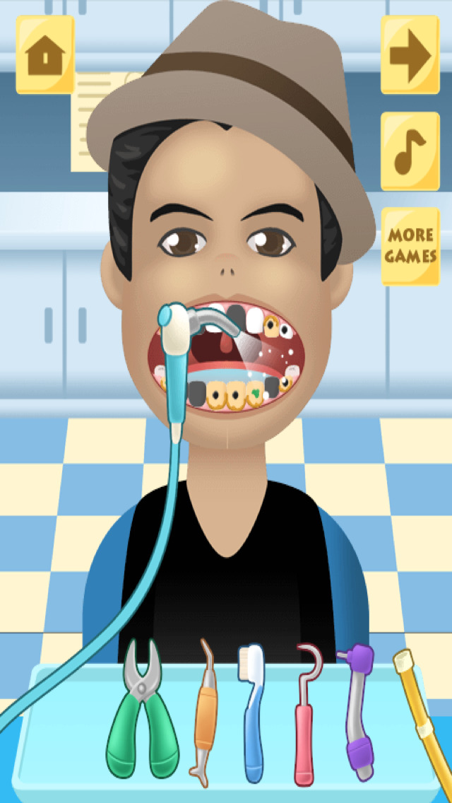 Pop Star Dentist (ad free) screenshot 4