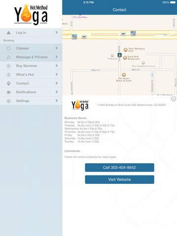 Hot Method Yoga Studios screenshot #4