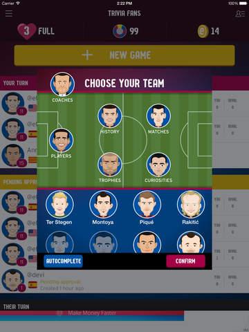 FC Barcelona Trivia Fans screenshot 7