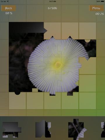Mushrooms Jigsaw Puzzles screenshot 7