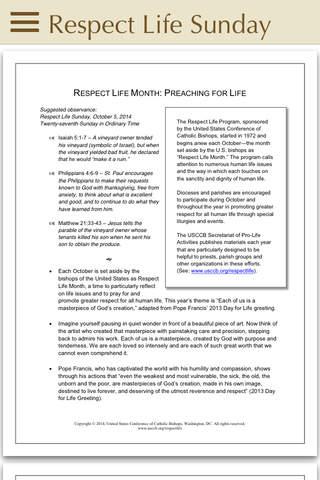 RespectLife - náhled