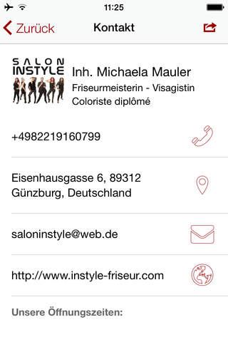 Salon Instyle - náhled