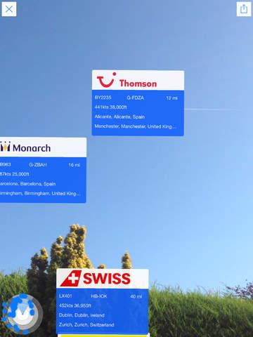 Plane Finder HD screenshot 4