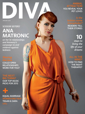 DIVA Magazine screenshot 2