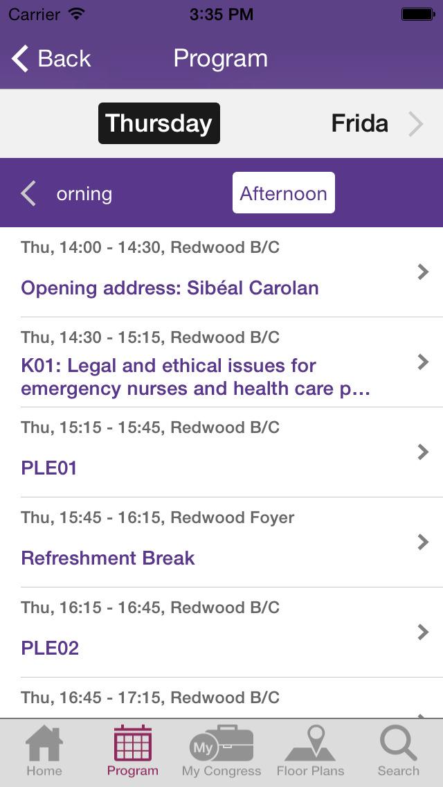 Nursing 2014 screenshot 3