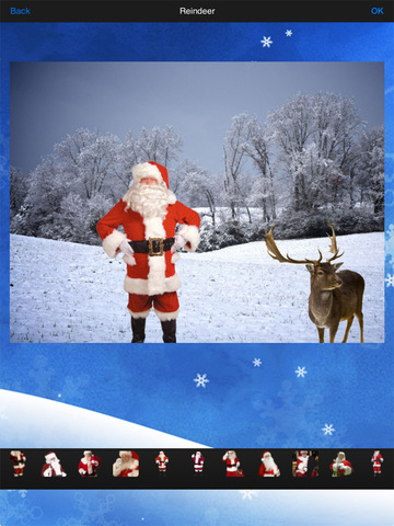 Santa's Reindeer Camera screenshot 8