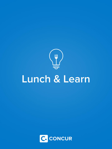 Concur Lunch & Learn screenshot 3