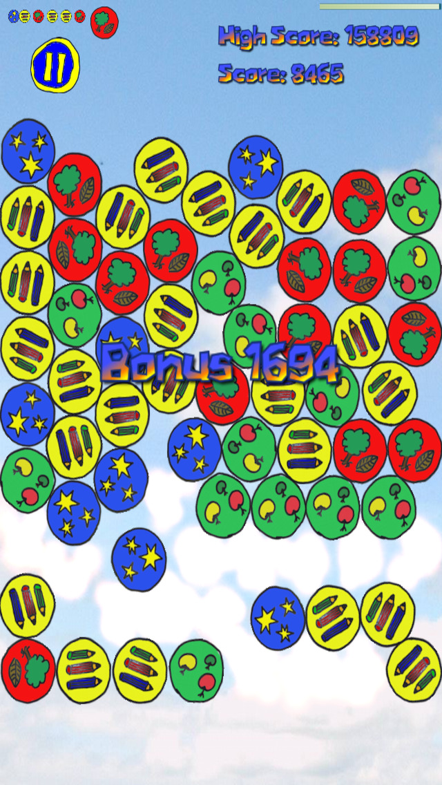 Yajaira Bubble (Physics Brain Game) screenshot 2
