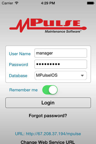 MPulse MobileWorks for iOS - náhled