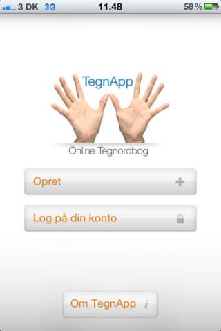 TegnApp - náhled